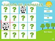 Juego de Animales Farm Animals Memory Game