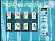 Juego de Animales Fun Memory Match Game